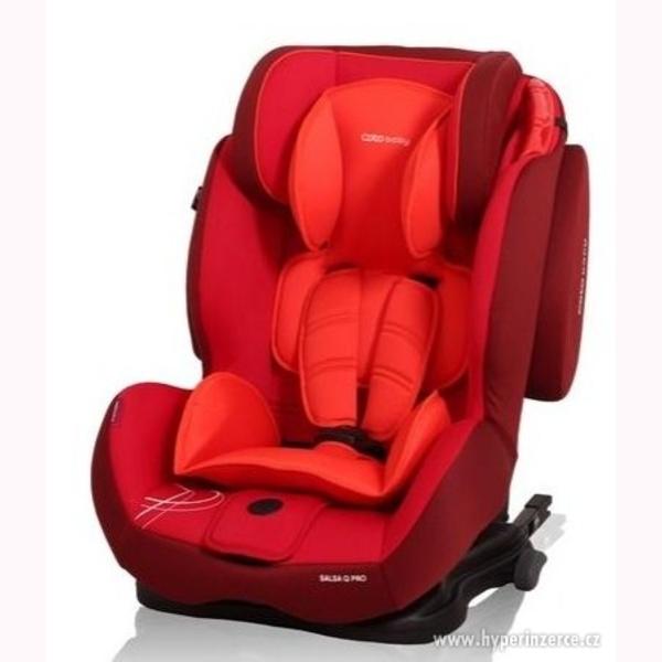 Autosedačka SALSA supra Q Isofix Coto Baby 9-36 kg