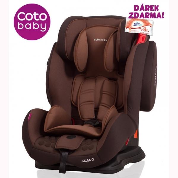 Autosedačka SALSA supra Q Coto Baby 9-36 kg