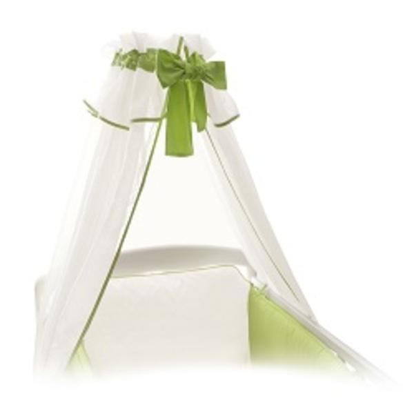 Baldachýn bielo – zelený