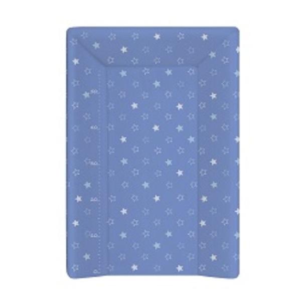 Prebaľovacia podložka Ceba 3 hran 70 cm, hviezdičky tmavo – modré