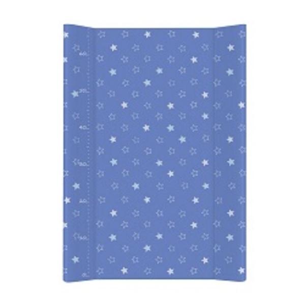 Prebaľovacia podložka Ceba mäkká 70 cm, hviezdičky tmavo – modré