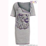 Tehotenská nočná košeľa Mačky