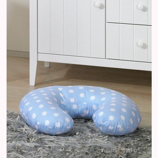 Vankúš na kojenie Mamo-Tato MINI – BUBBLE modrá 1