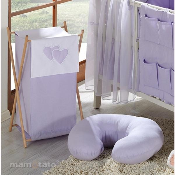 Vankúš na kojenie Mamo-Tato MINI - fialová