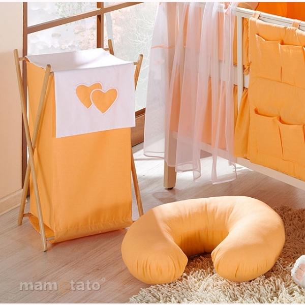 Vankúš na kojenie Mamo-Tato MINI - oranžová