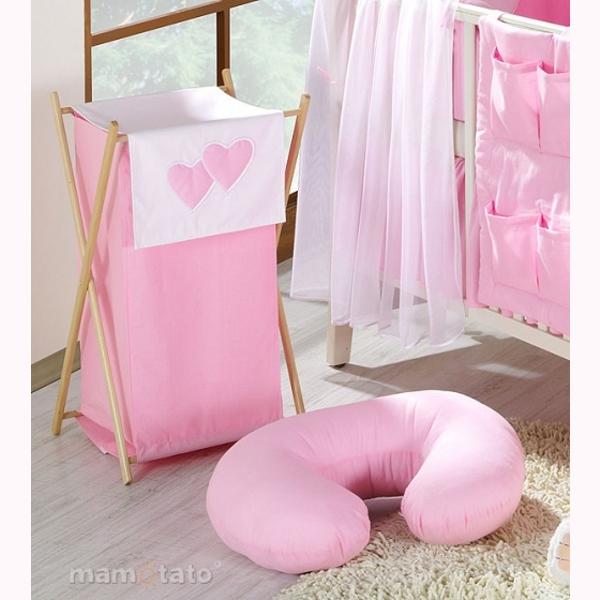 Vankúš na kojenie Mamo-Tato MINI – ružová 1