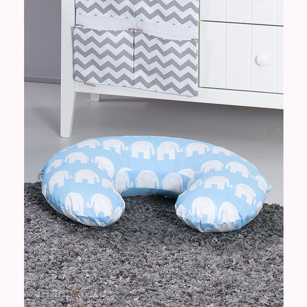 Vankúš na kojenie Mamo-Tato MINI – SLON modrá 1