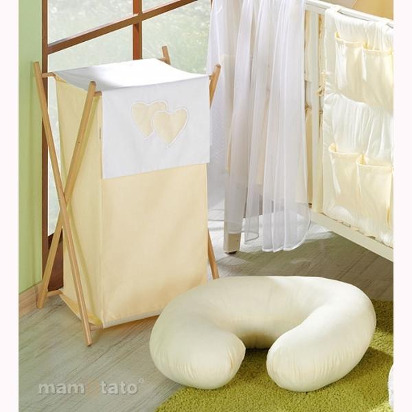 Vankúš na kojenie Mamo-Tato MINI - smotanová
