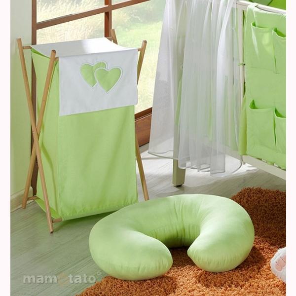 Vankúš na kojenie Mamo-Tato MINI - zelená