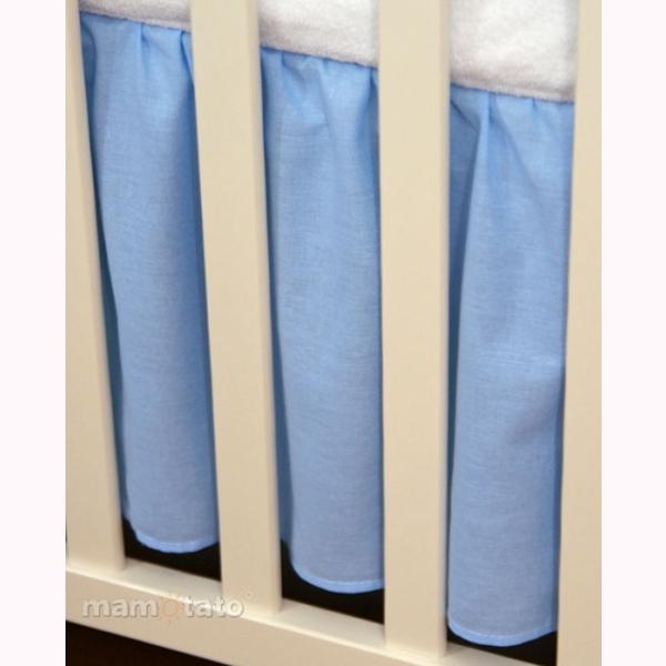 Volán pod matrac MT – modrá 1