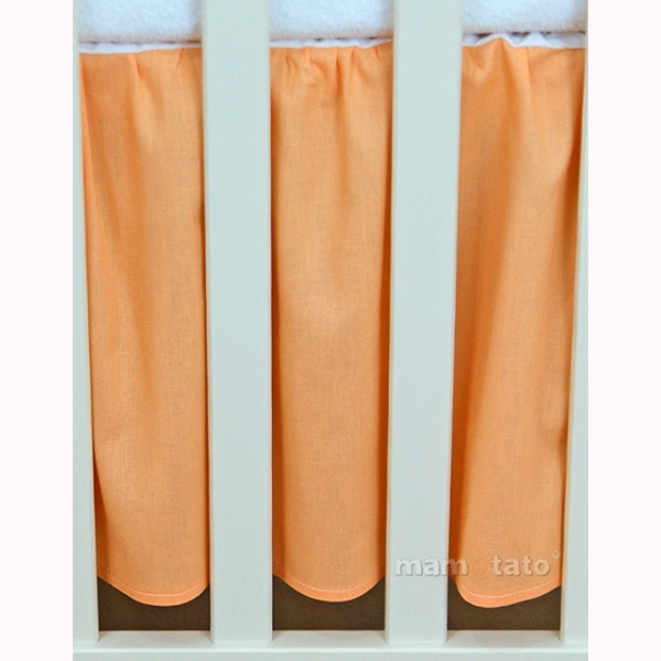 Volán pod matrac MT – oranžová 1