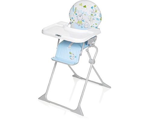 BREVI JUNIOR Jedálenská stolička 2017 modrá