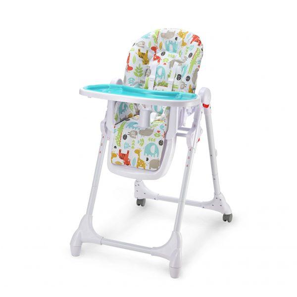 Detská stolička Zola modrá Petite&Mars