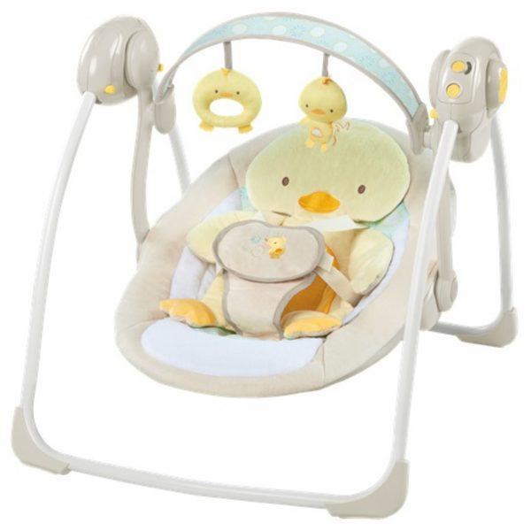 Hojdačka s melódiou Quacks&Cuddles™ 0m+-1