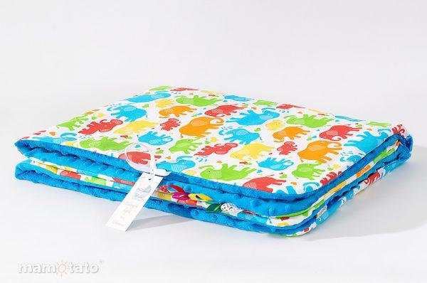detska-deka-minky-farebneslony-modra