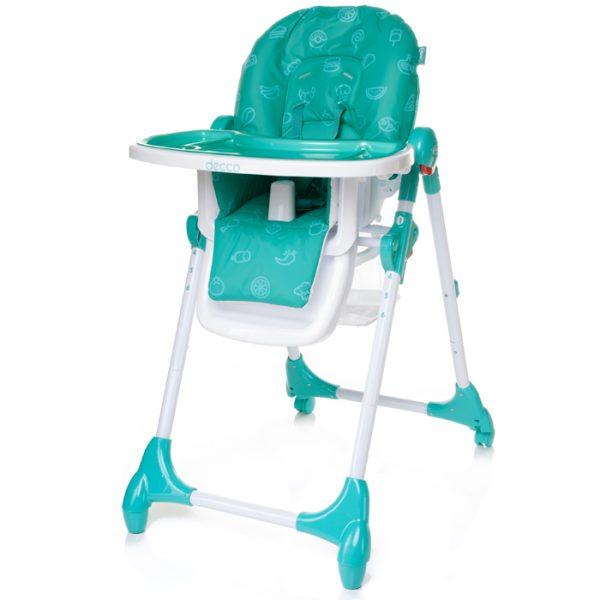 detská stolička decco -tyrkysová