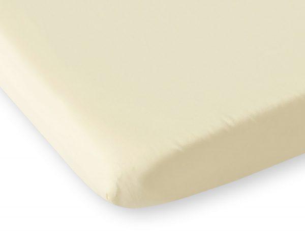 bavlnená plachta krémová
