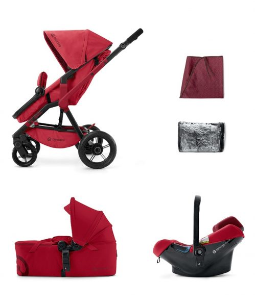Mobility Set Wanderer Air+Scout Ruby Red Concord 2016