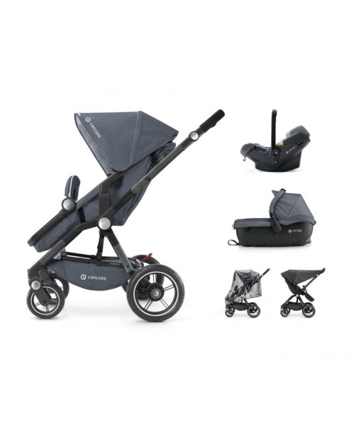 Travel Set Camino Air.Safe+Sleeper 2.0 Steel Grey Concord 2017