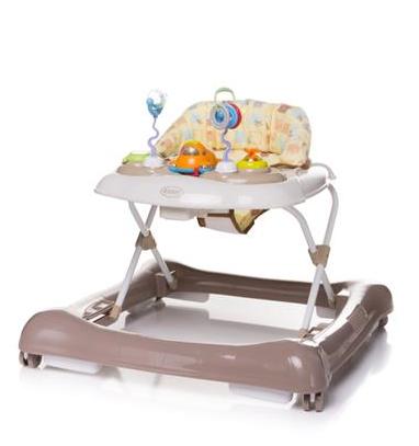 4 BABY Chodítko Steps – hnědé