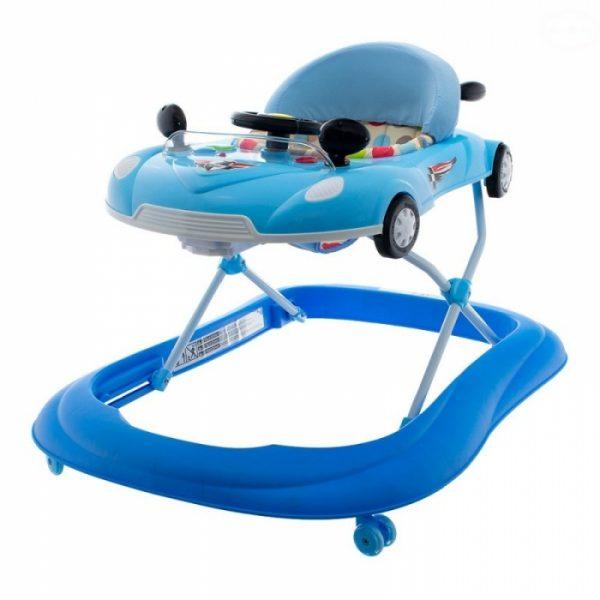 Euro Baby Multifunkčné chodítko s volantom – modré, Ce19