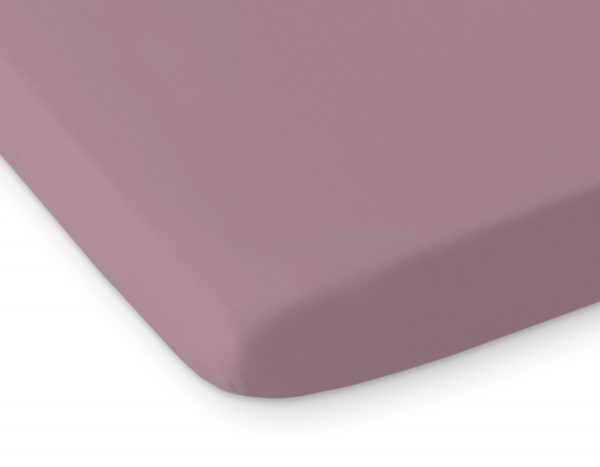 bavlnena plachta pastelova fialova