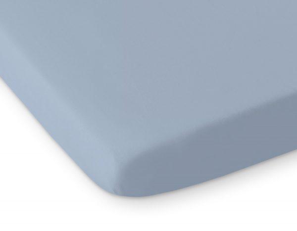 bavlnena plachta pastelova modra