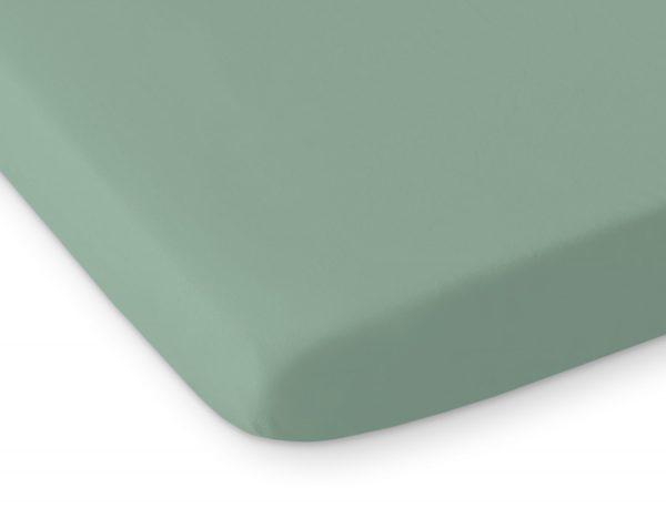 bavlnena plachta pastelova zelena