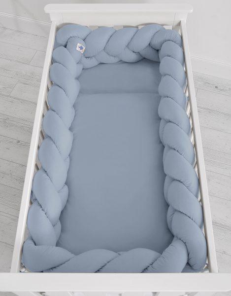 mantinel pleteny do vrkoca 360cm pastelova modra2