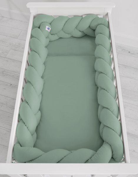 mantinel pleteny do vrkoca 360cm pastelova zelena2