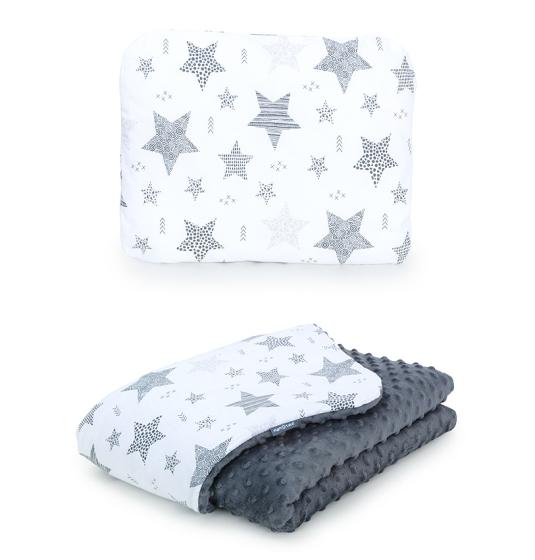 sivá-deka-vankúš