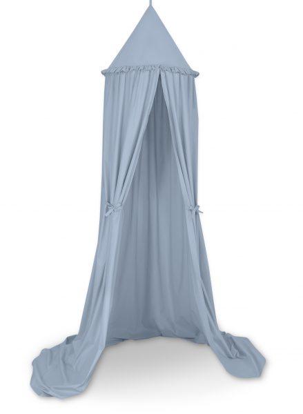 visiaci baldachyn pastelova modra