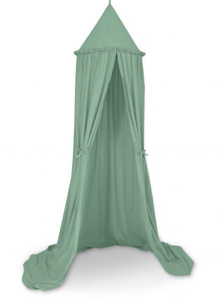 visiaci baldachyn pastelova zelena