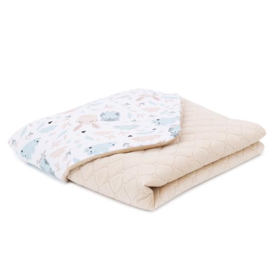 deka velvet cistinka pieskova
