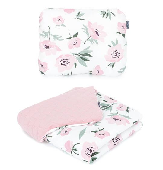 kvety-ružová-deka