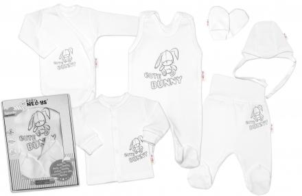 velka-sada-do-porodnice-cute-bunny-6-dielna-biela